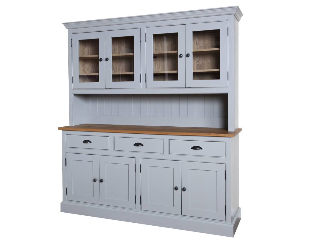 Bespoke-glazed-dresser-painted-lamp-room-gray-3