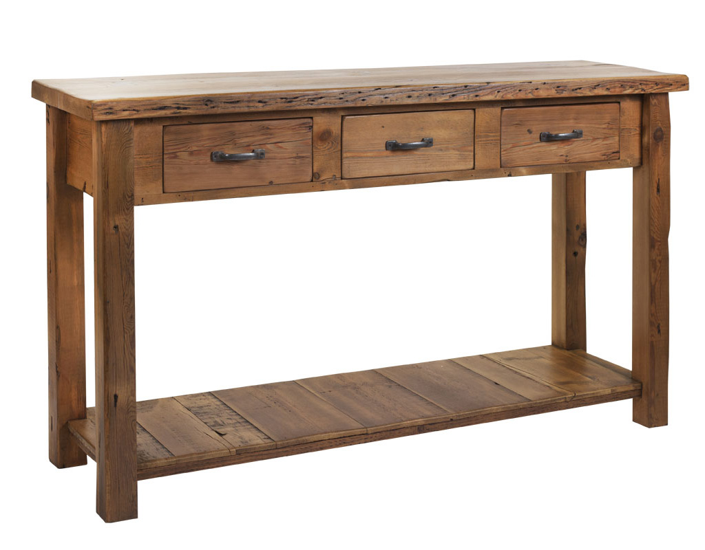 Bespoke-reclaimed-3-drawer-console-table