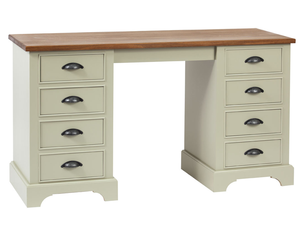 Bespoke-highgrove-double-ped-dressing-table-painted-french-gray