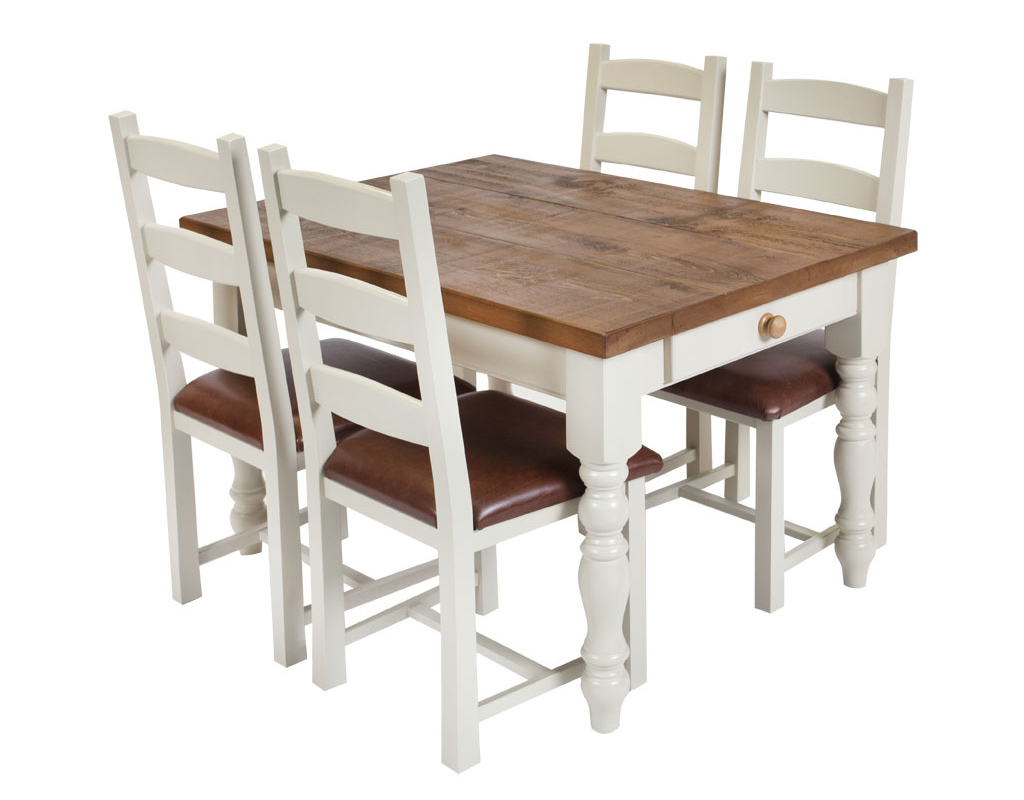 Bespoke-painted-farmhouse-table-and-painted-amish-chairs-1
