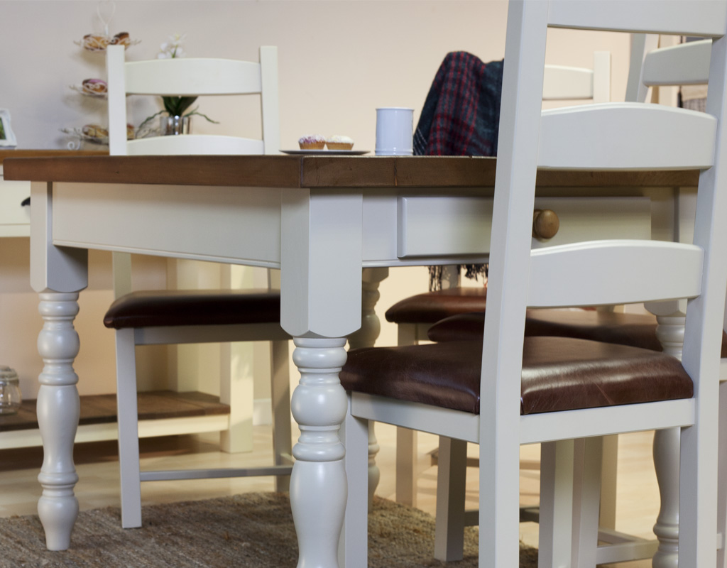 Bespoke-painted-farmhouse-table-and-painted-amish-chairs
