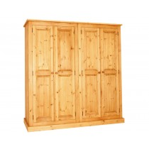 Bespoke Combination 4 Door Full Hanging Wardrobe