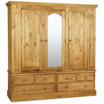 Sherwood Pine Triple Robe with Mirror
